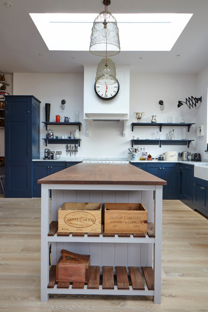 South West London Edwardian House Traditional Kitchen