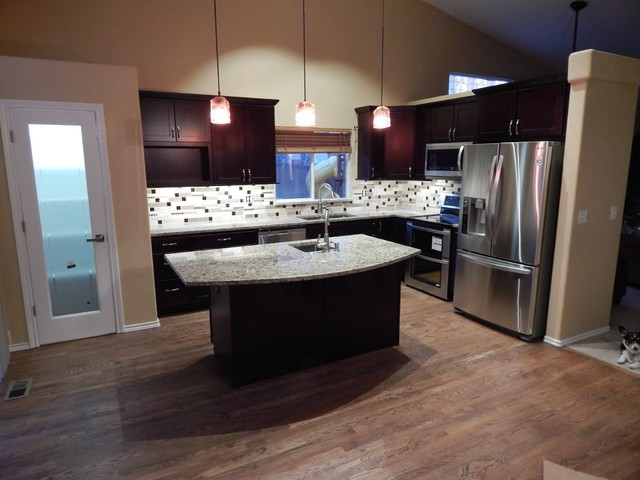 80s Home Remodel Contemporary Kitchen Denver By Creative Arts Design Center