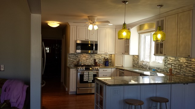 80s Kitchen Remodel Contemporary Kitchen St Louis