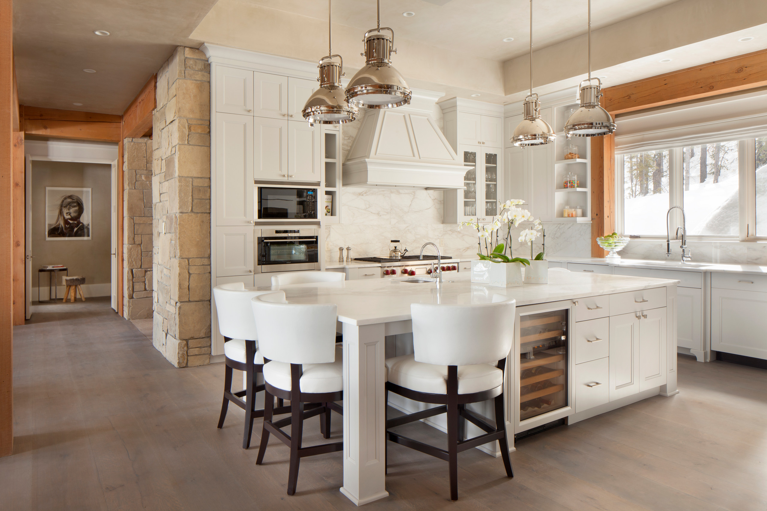 75 Beautiful Rustic Kitchen With An Island Pictures Ideas December 2020 Houzz