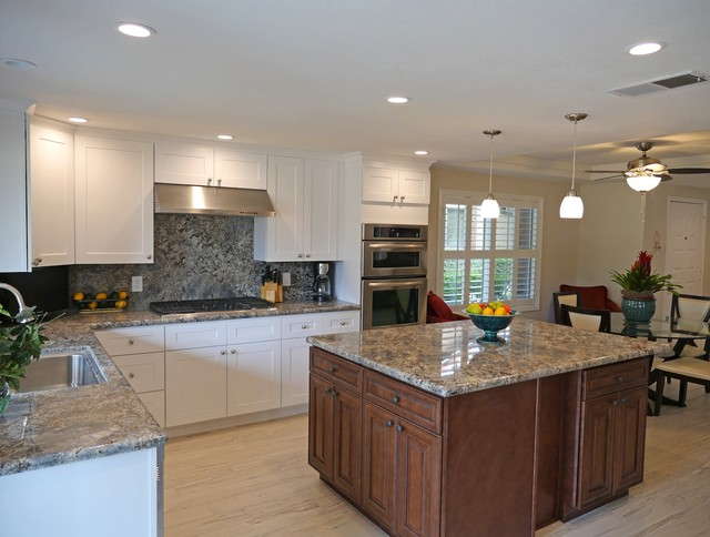 83 Camino Palm Desert Traditional Kitchen Los Angeles By Abode Image