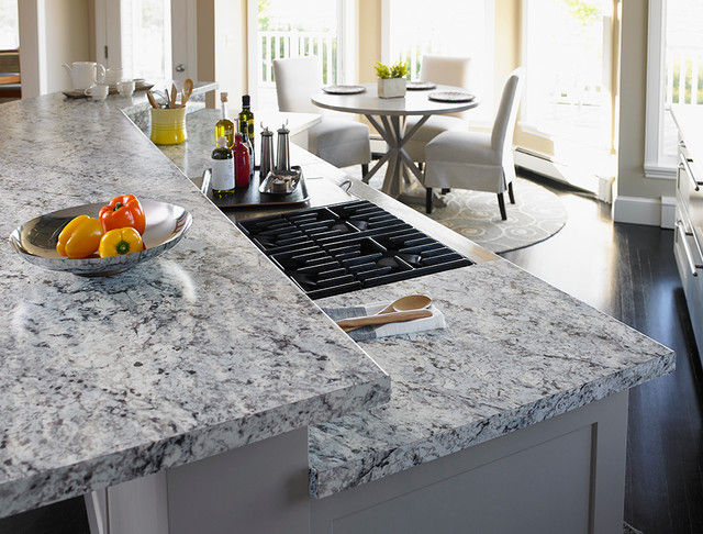 9476 White Ice Granite Formica® Laminate modern-kitchen