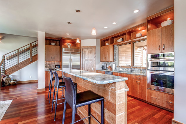95 Gold Run Road contemporary kitchen