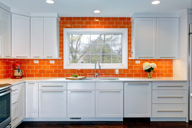 A Bold Kitchen In Dublin Contemporary Kitchen Columbus By Dave Fox Design Build Remodelers