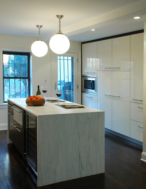 a brooklyn townhouse modern kitchen new york by