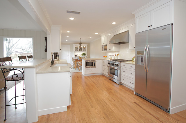 A Cheerful Renovation traditional-kitchen