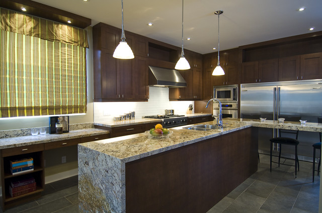 A Chef's Dream contemporary-kitchen