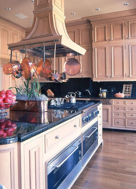 A City Apartment traditional-kitchen