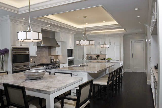 A Classic Kitchen contemporary-kitchen