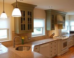 A  Client Designer Collaboration eclectic-kitchen