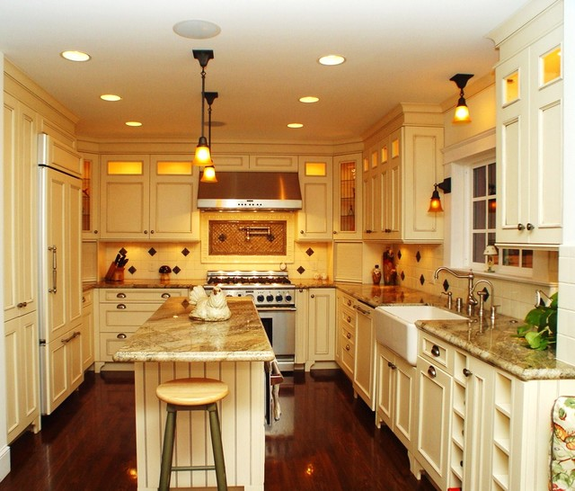 A client's Dream Kitchen traditional-kitchen