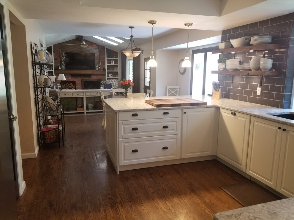 A Colorado Style Big Space Ikea Kitchen Layout Scandinavian Kitchen Other By Inspired Kitchen Design