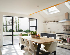 A colourful London home eclectic-kitchen