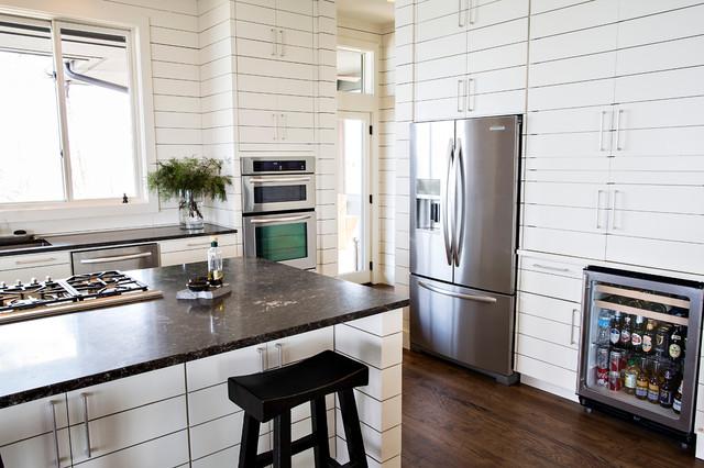 A Contemporary Lake House contemporary-kitchen