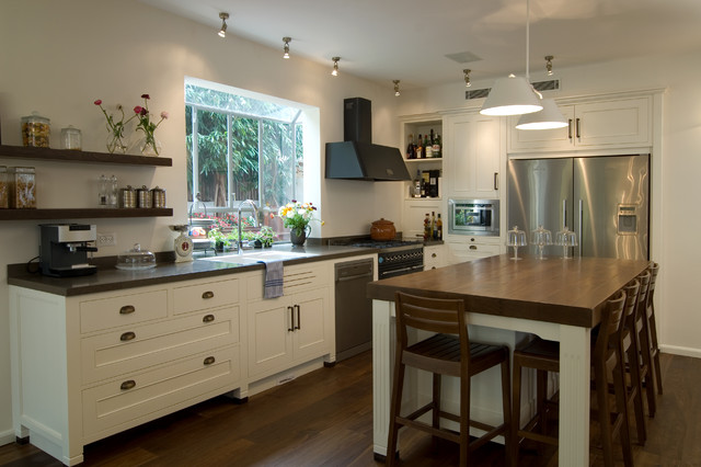 A Country Home Contemporary Kitchen