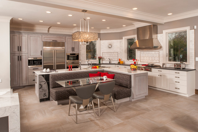 Merveilleux A Customized Creation   Harrison Township Transitional Kitchen