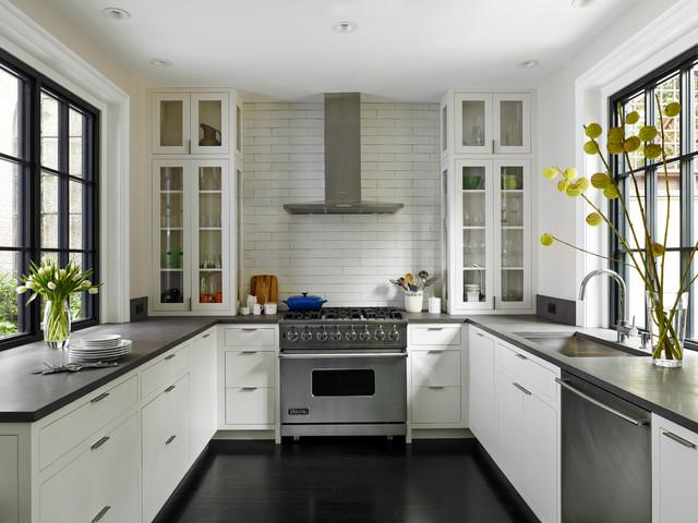 A. Delancey Place Renovation transitional-kitchen