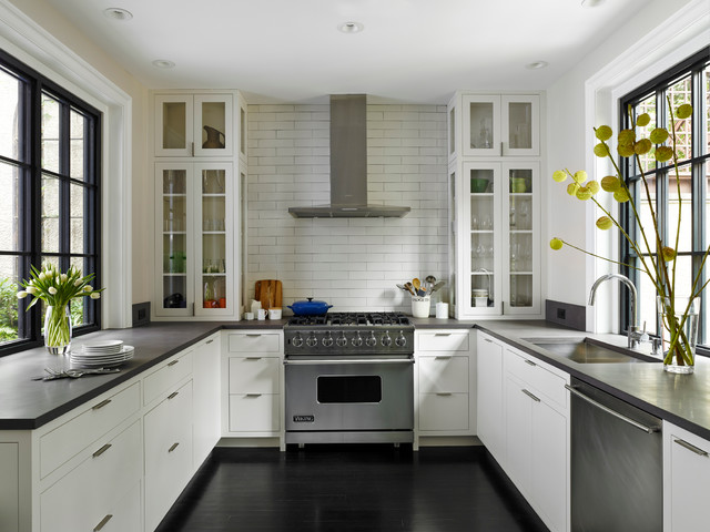 A Delancey Place Renovation Transitional Kitchen