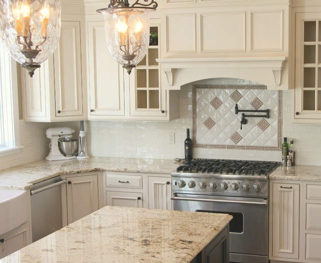 ... Design - Traditional - Kitchen - other metro - by Galleria Stone