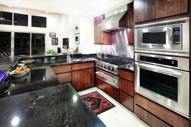 A Dick Clark Contemporary contemporary-kitchen