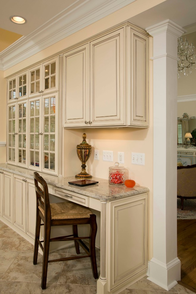 A French Country Kitchen Design in McLean, Virginia ...