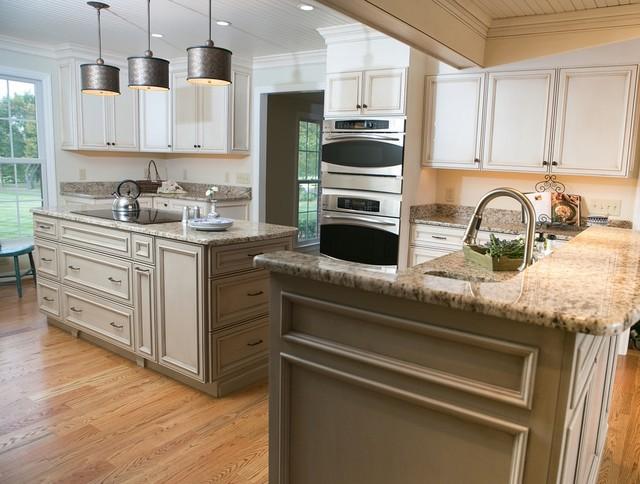 Fresh Take on a Farmhouse Style Kitchen - Traditional - Kitchen - dc ...