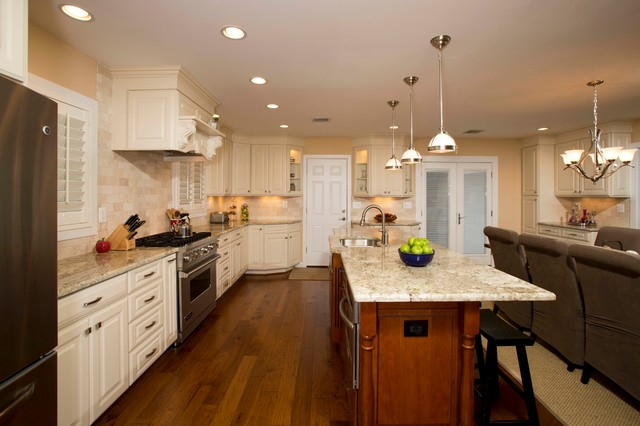 A Galley Kitchen Transformed To Meet Falls Church Homeowner 39 S Vision Tr