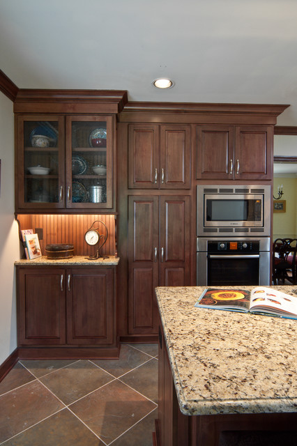 A Gathering Space for the Entire Family traditional-kitchen