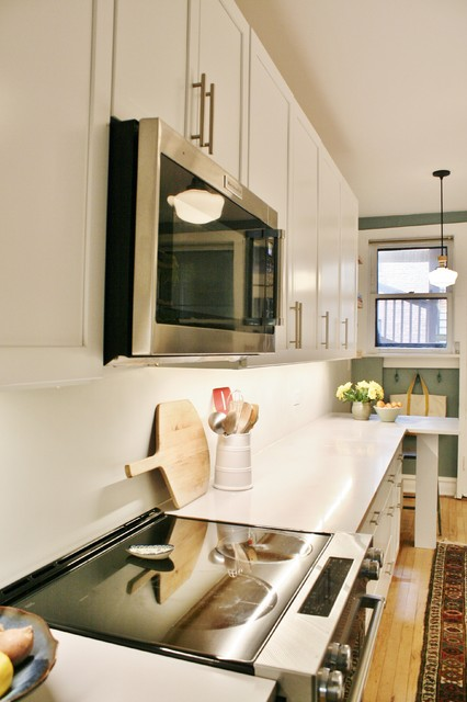 A Grand Galley - Transitional - Kitchen - Chicago - by ...