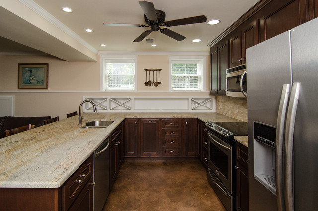 A Historic DC Row Home Renovation- Eastern Market traditional-kitchen