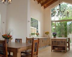 a house in raanana mediterranean-kitchen