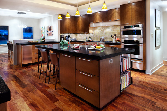 Contemporary Kitchen by CG&S Design-Build