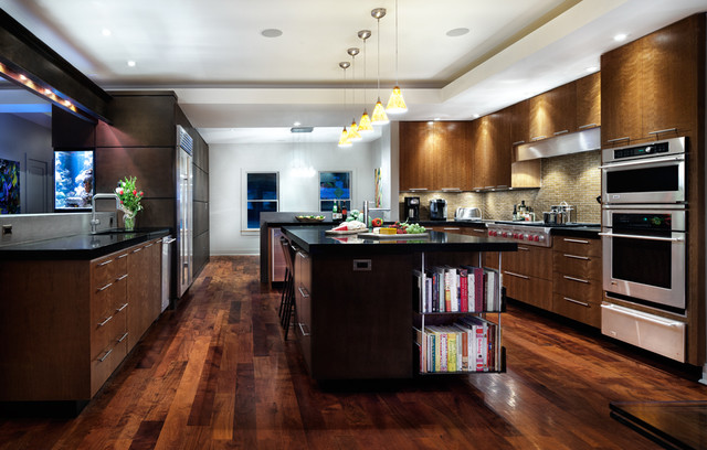 A House With Zip! contemporary-kitchen