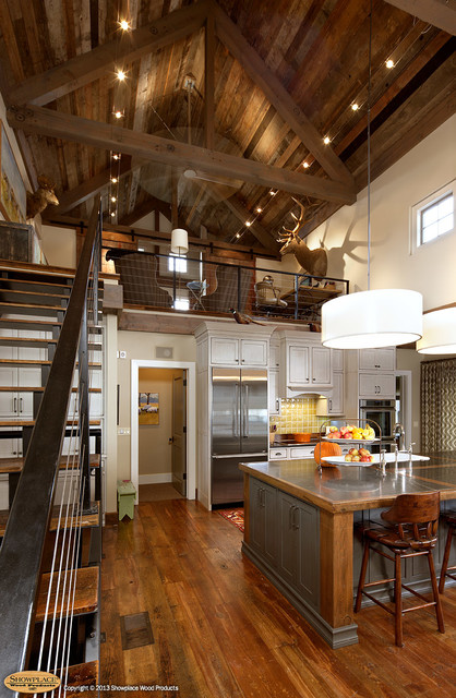 A Hunter's Haven rustic-kitchen