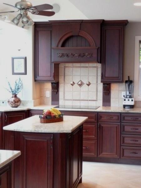 A kingston sandy beach kitchen traditional kitchen for Kitchen design kingston
