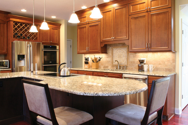 A kitchen for entertaining traditional-kitchen