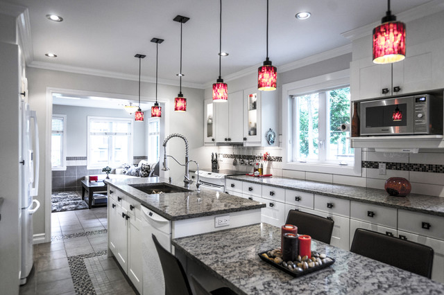 A kitchen Remodel on a shoestring budget. contemporary-kitchen