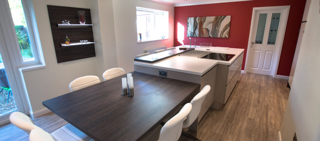 A Kitchen That Brings It All Together In Lancashire
