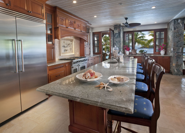 A 39 La Mer Kitchen Tropical Kitchen Other By Barefoot Design Group Llc