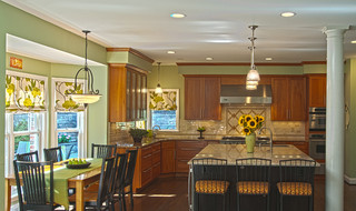 A Lovely Mt Lebanon Pa Home Modern Kitchen Other