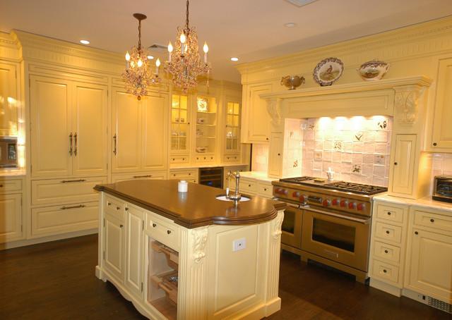 A Mellow Yellow Kitchen traditional-kitchen