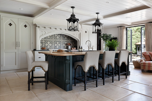 A Mock Tudor Style House In Radlett American Traditional Kitchen