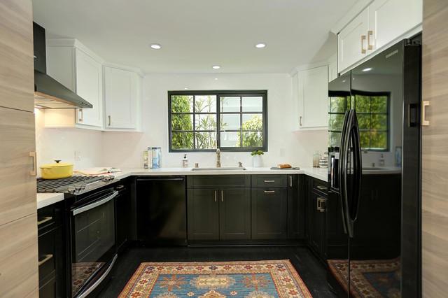 A modern classic modern-kitchen