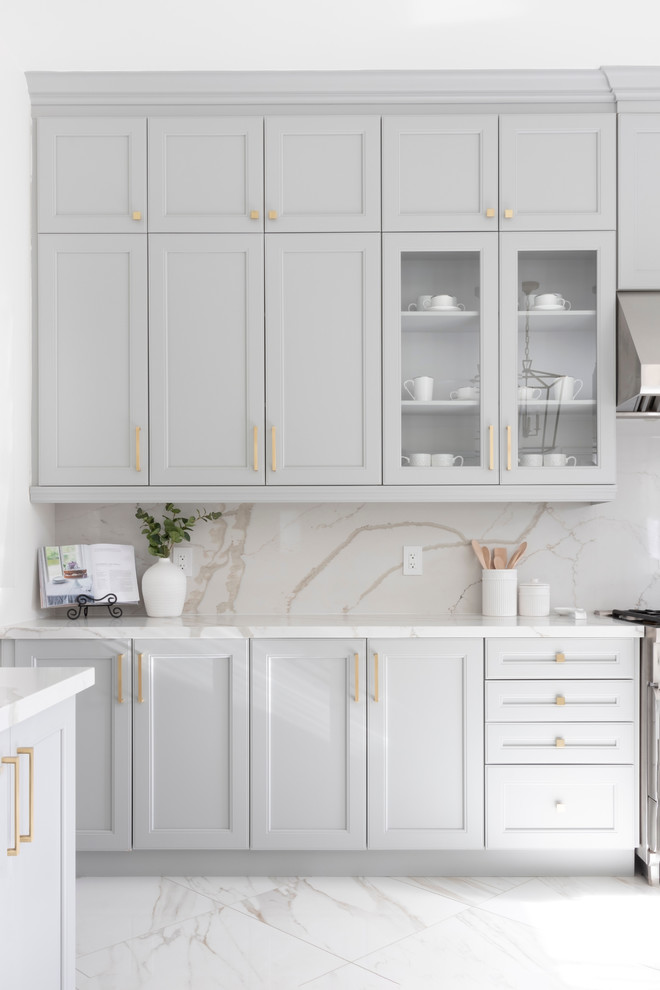Inspiration for a transitional kitchen remodel in DC Metro