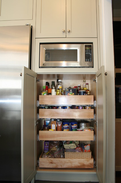 A Modified Pantry Adds Lots Of Storage