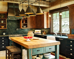 Mountain Living traditional-kitchen