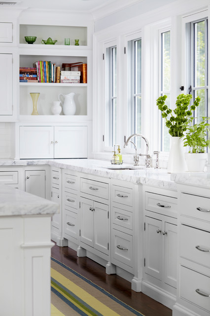 A new home in the New York Suburbs transitional-kitchen