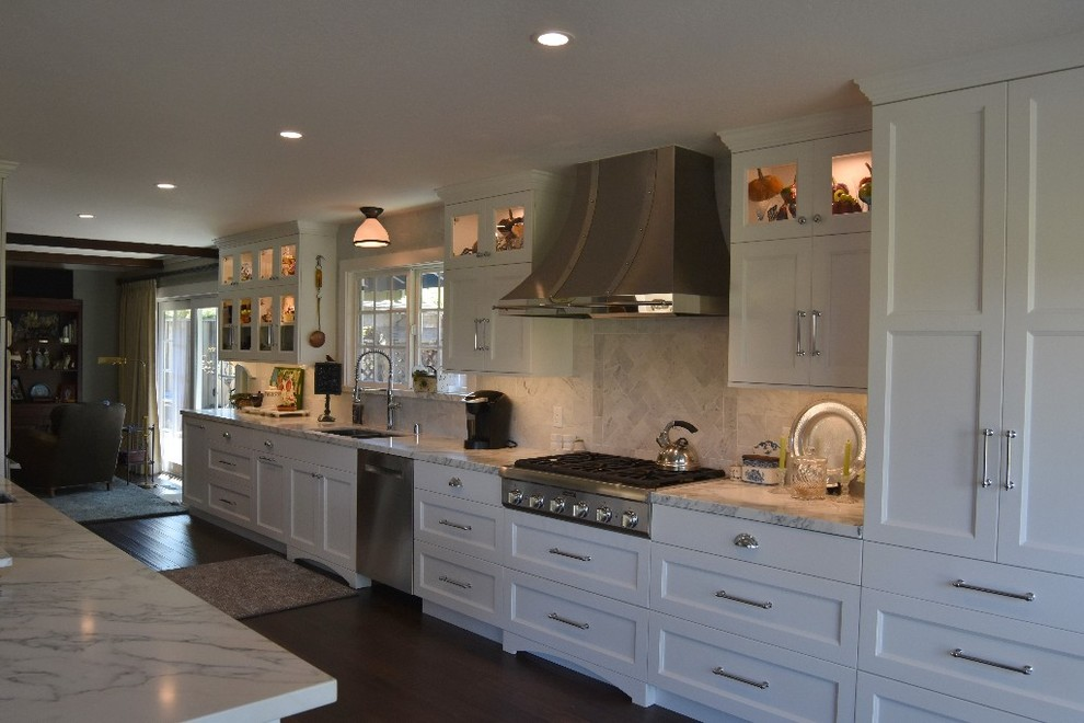 A new kitchen in Redwood City, Ca. - Traditional - Kitchen ...