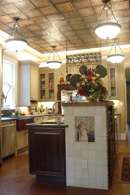 New orleans style kitchen weifeng furniture for Kitchen cabinets new orleans