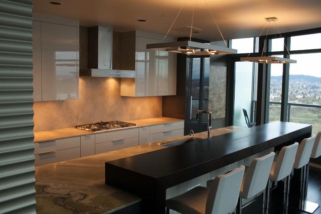 A new point of view contemporary kitchen portland by william roy designer kitchens - Kitchen designers portland oregon ...